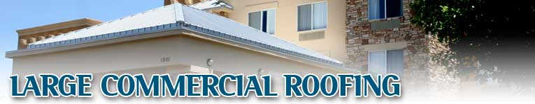 Large Commercial Allen Roofing Company Of New Mexico